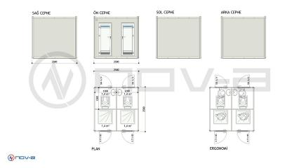 250X250 WC-DUS PANEL KABIN thumbnail